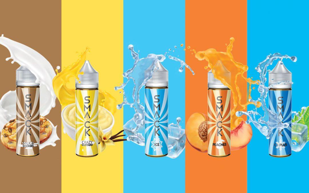 Smack E-Liquid Rebrand