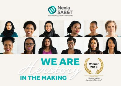 Nexia SAB&T – We are herstory in the making campaign