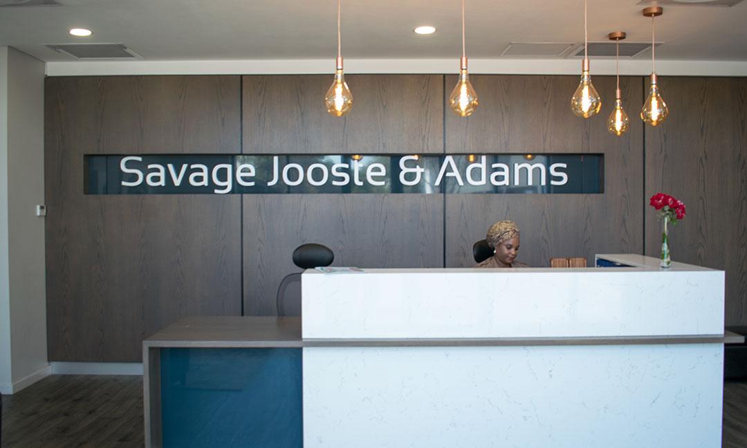 Savage Jooste & Adams Rebrand